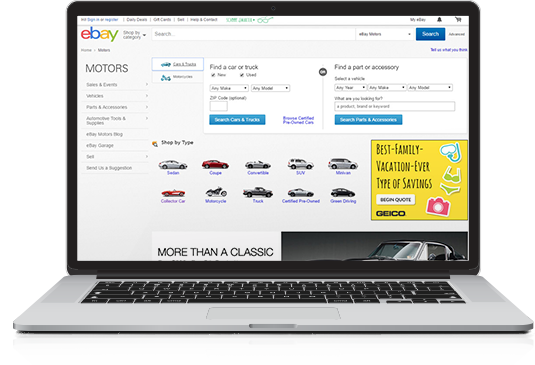 Ebay Motors Buying Services