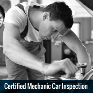 Certified Mechanic Vehicle Inspection